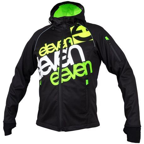 Softshell jacket ELEVEN Fluo black