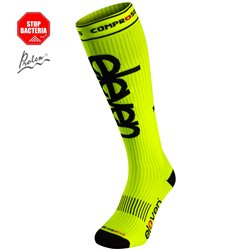 Compression socks Eleven Fluo