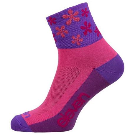 Socken ELEVEN HOWA Flower Pink