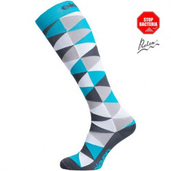 Compression Sock ELEVEN-Triangle Blue
