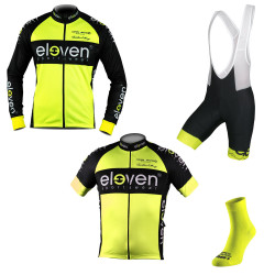 Set 4er Eleven-HORIZONTAL man Fluo 11