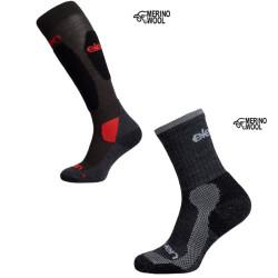 Set 2.er Trekking Socken-kurz+lang