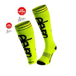 2.er SET Kompression-Socken lang+Sleev Fluo