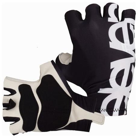 Kurze Radhandschuhe ELEVEN-Black/White