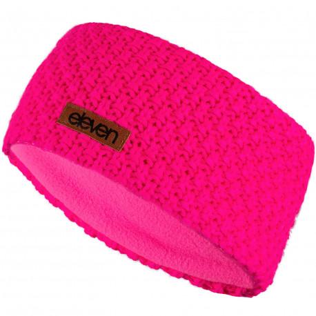 Stirnband gestrickt Eleven Pink