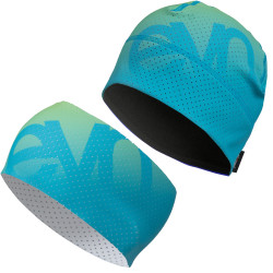 Set Haube Stirnband Air Gradient Blue