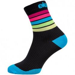 Compression Socken STRADA STRIPE BLACK