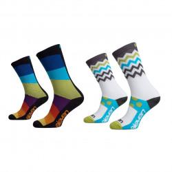 Socks SUURI+ Rainbow und Wave_M01
