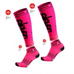 COMPRESS SLEEVES Pink+CMP.SOCKEN LUCA_AP21