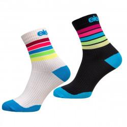 2er Compres Socken STRADA Srtipe MA21