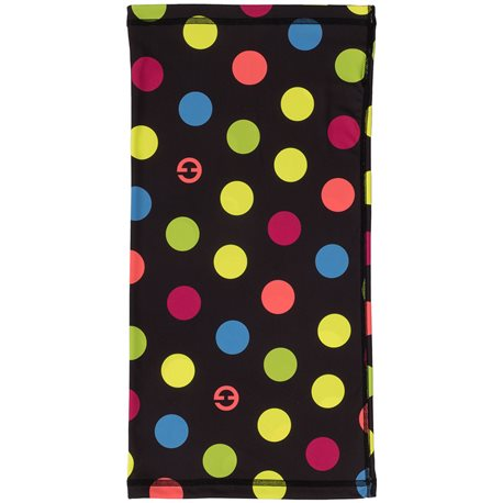 Scarve cap ELEVEN Dots Color Black