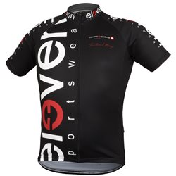 Cycling jersey VERTICAL man black