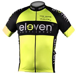 Cycling jersey HORIZONTAL man Fluo 11