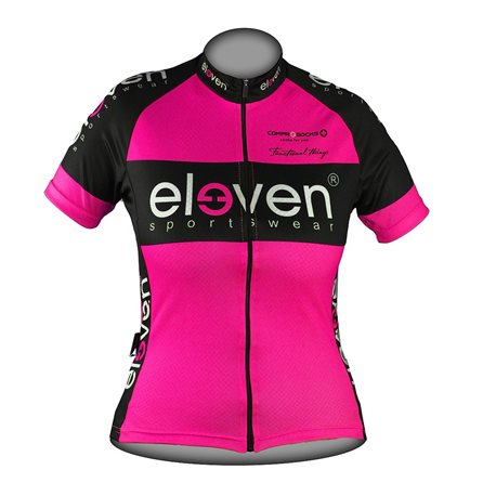 Cycling jersey HORIZONTAL woman Fluo F32