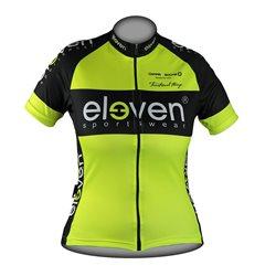 Cycling jersey HORIZONTAL woman Fluo F11